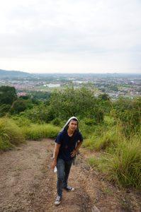 Keindahan pemandangan di Bukit Nobita