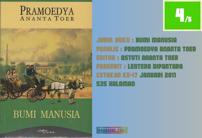 Review Bumi Manusia Karya Pramoedya Ananta Toer