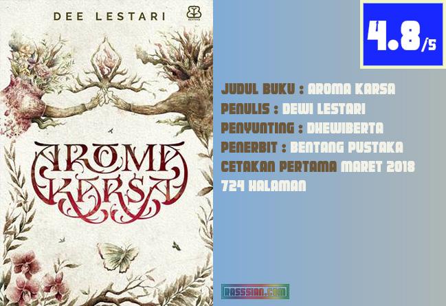 Review Buku Aroma Karsa karya Dewi Lestari
