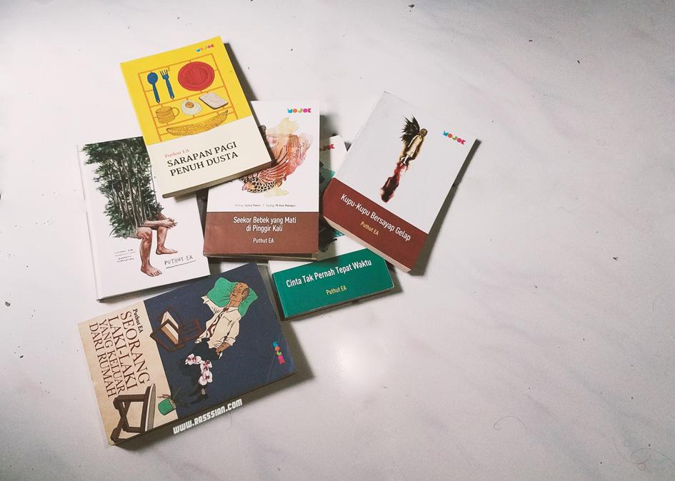Rekomendasi Buku-Buku Puthut EA